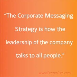 What is a Corporate Messaging Strategy?