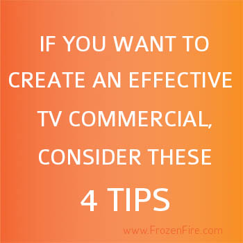 Tips for Creating Effective TV Commercials